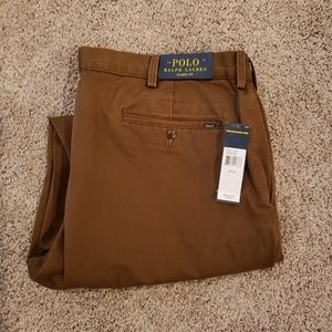 Brown Polo Ralph Lauren Classic Fit Chinos 40 W